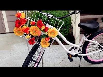 How to Decorate a Bicycle Basket - ShoeBird Tutorial