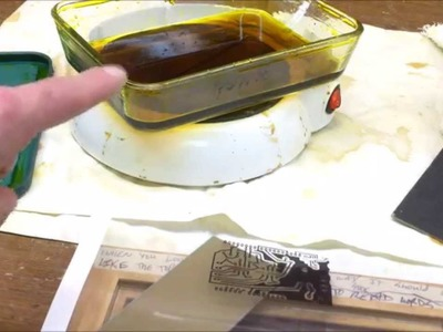 How To: DIY PCB Etching. Make PCB with Ferric Chloride