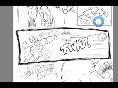 How to Draw Cool Action Letters for Comics