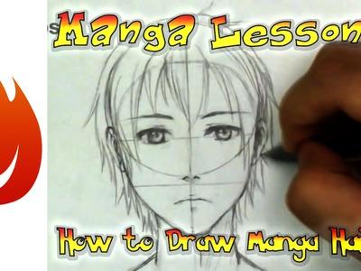 How to Draw Manga Hair: The Basics