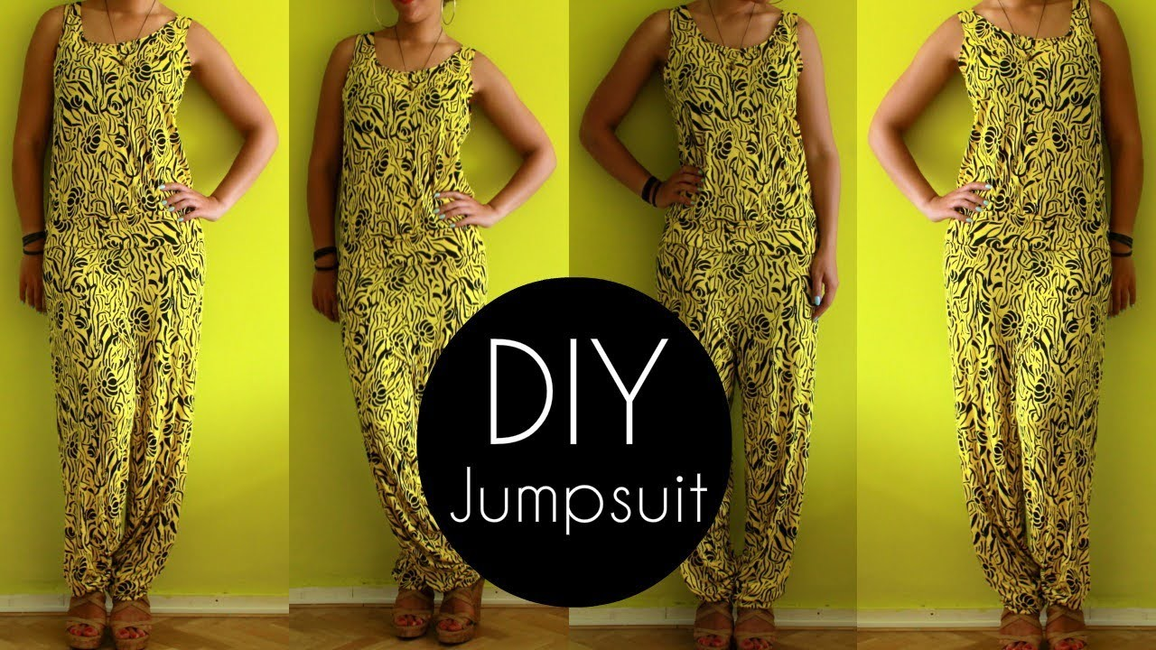 How To Make a DIY Jumpsuit Easy | DIY Clothes