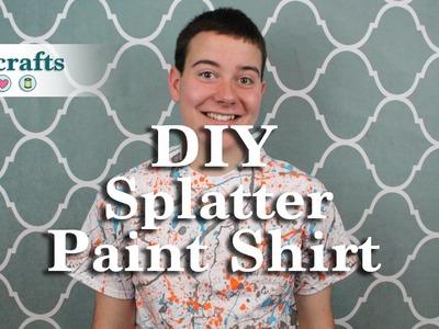 How to Make a Splatter Paint Shirt