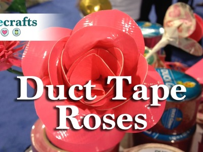 How to Make A Valentine's Day Duct Tape Rose