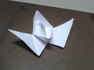 How to make boat with wings? How to make Paper Bat with wings