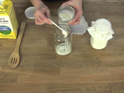 How to Make Viili Yogurt