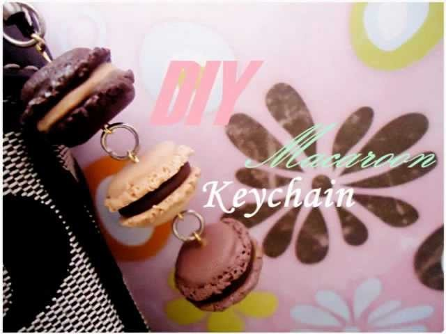 How to: Mini macaroon keychain