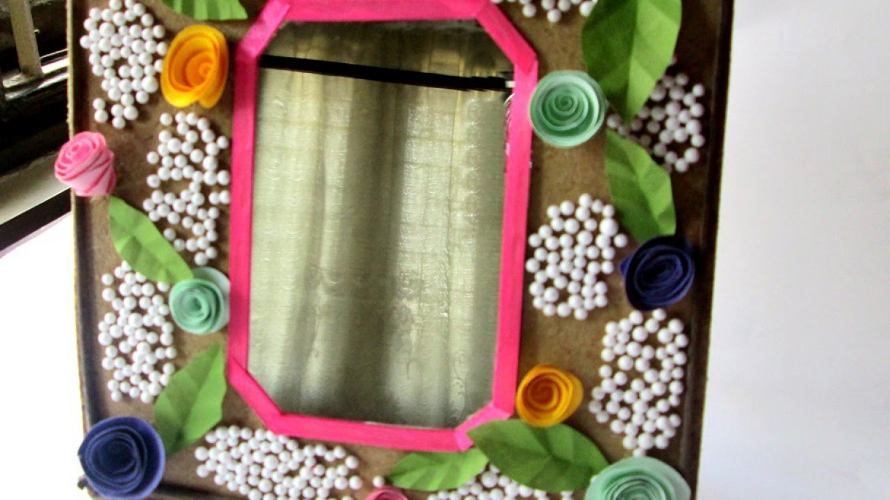 Make a Decorated Mirror Frame - DIY Home - Guidecentral