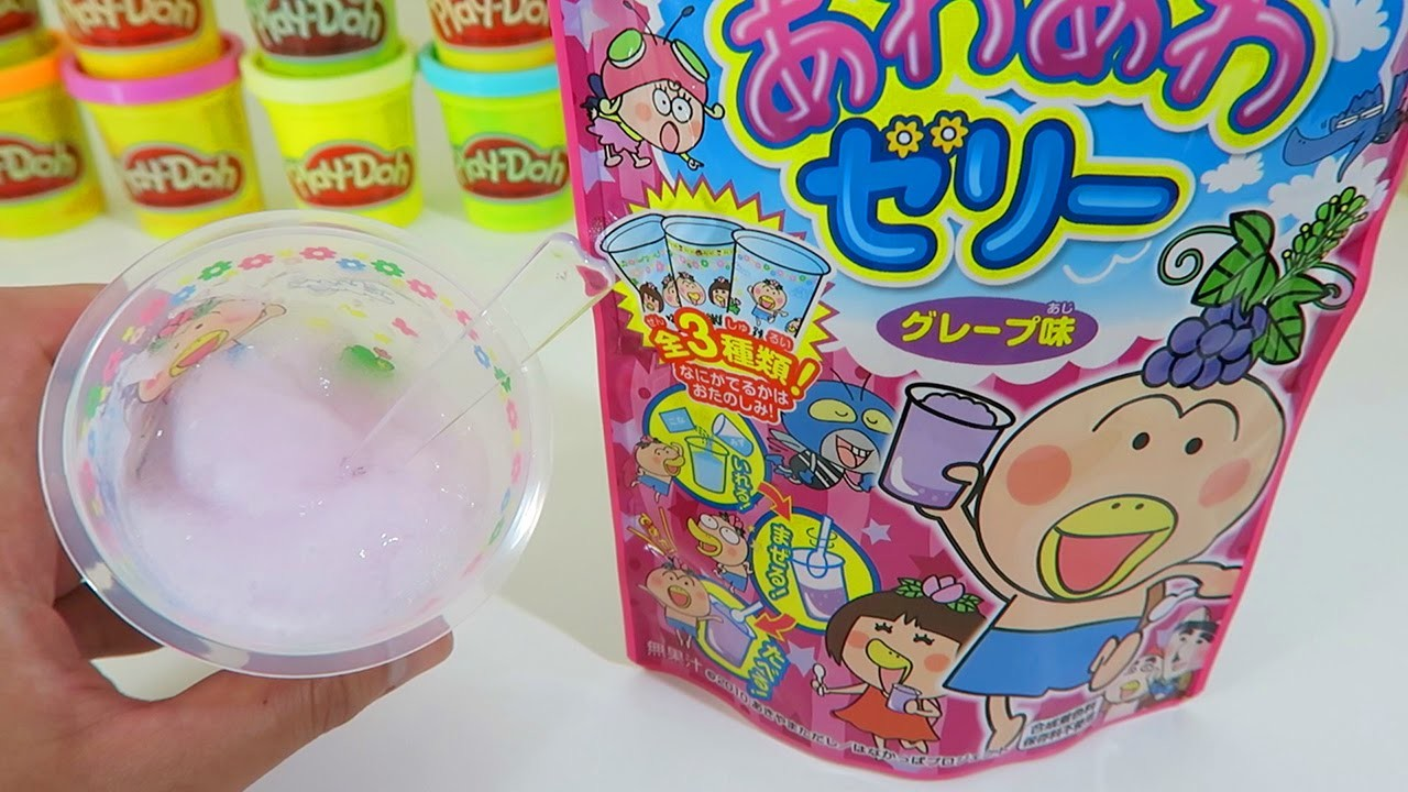 Meito Awa Awa Jelly Grape Candy Making Kit | EASY DIY Japanese Candy!