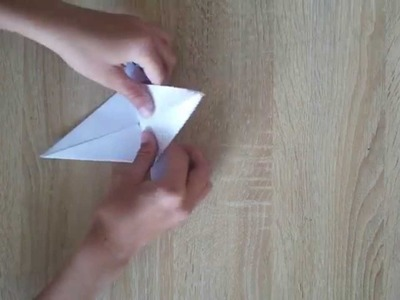 Origami How to fold pickaxe