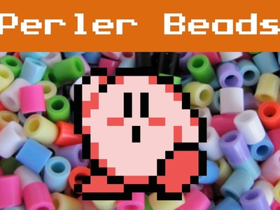 Perler Beads: Kirby