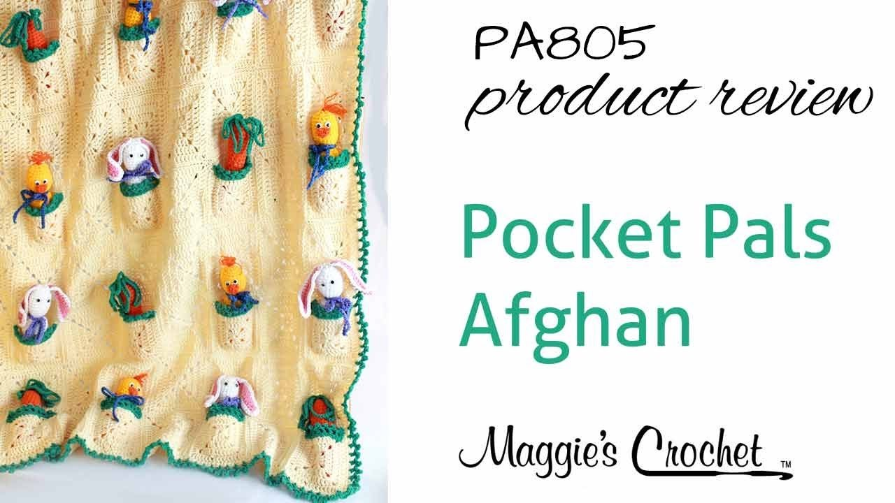 Pocket Pals Afghan Crochet Pattern Product Review PA805