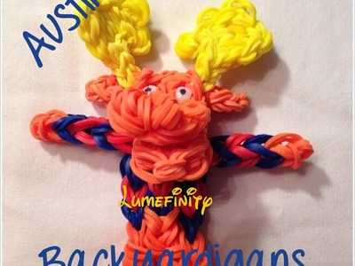 Rainbow Loom bands Tyrone - Backyardigans Figure Charm by Lumefinity - How to