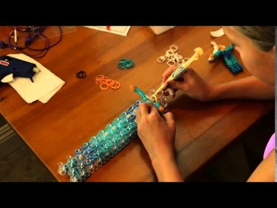 "Rainbow Loom ""Elsa"" from Frozen"
