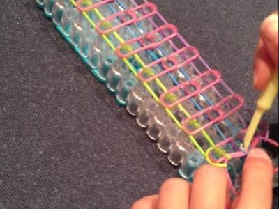 Rainbow Loom - The Ladder Bracelet
