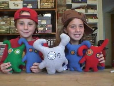 Rosie and Anna Make Chelsea Dolls