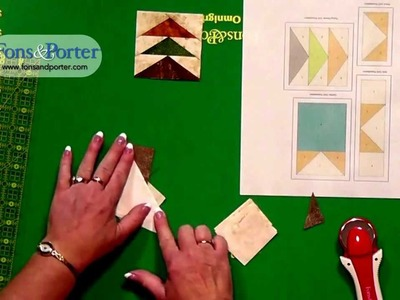 Sew Easy Lesson: Paper Foundation Piecing