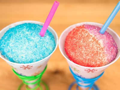 Snow Cone Cupcakes from Cookies Cupcakes and Cardio