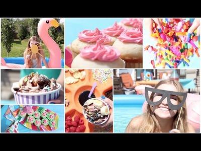 Summer Party! | DIY Treats, Activities & Decorations!