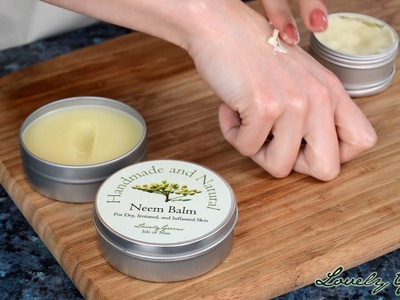 Tutorial for making a Natural Healing Cream for Eczema and Psoriasis