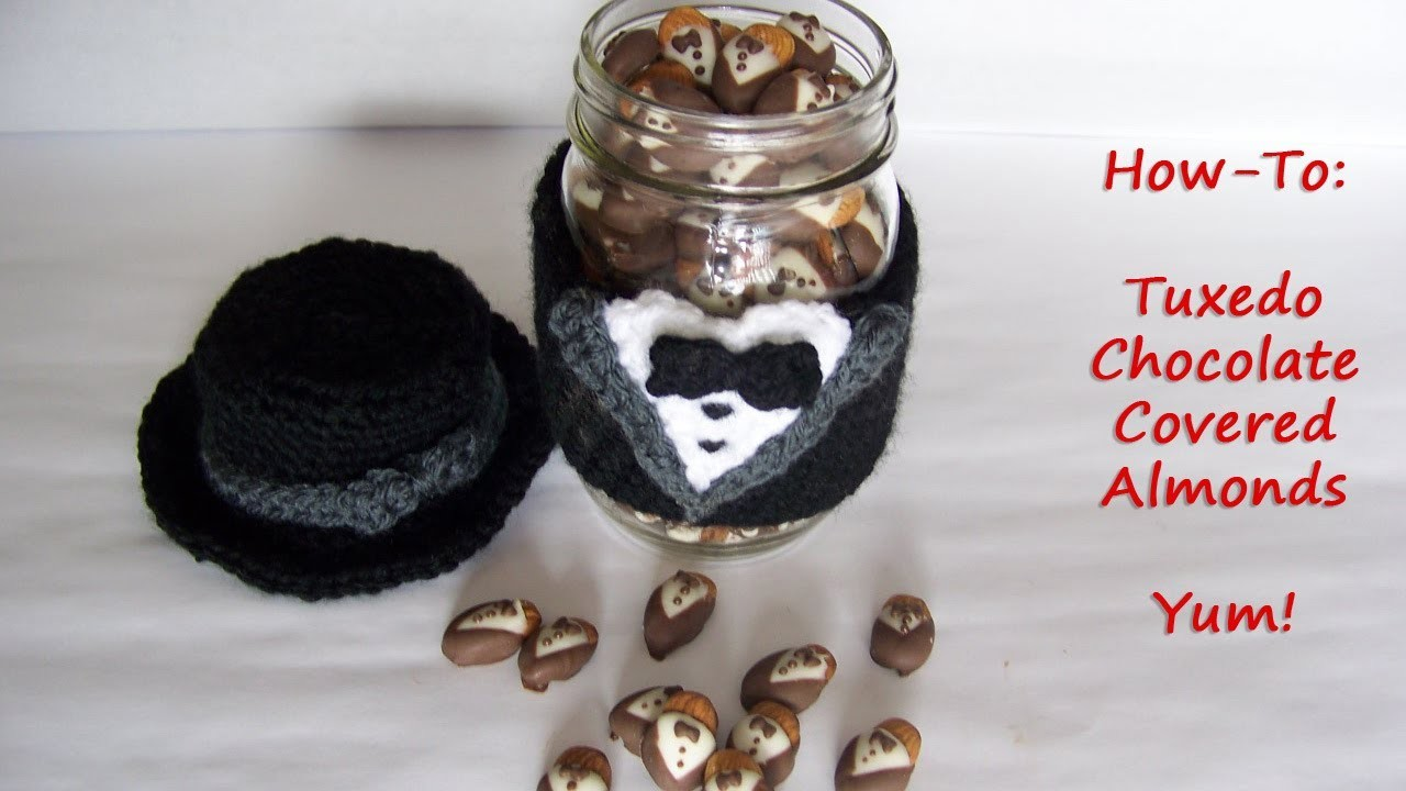 Tuxedo Chocolate Covered Almonds Video How To