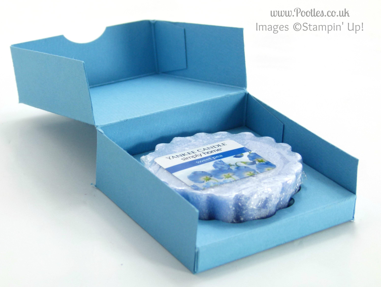 Yankee Candle Tart Box Tutorial (single sheet of cardstock)