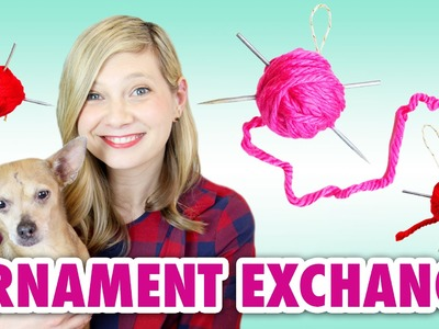 DIY Knitting Needle: Ornament Exchange