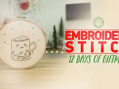 Embroidery - 12 Days of Giftmas