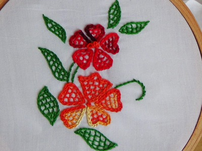 Hand Embroidery: Blanket Stitch Filling