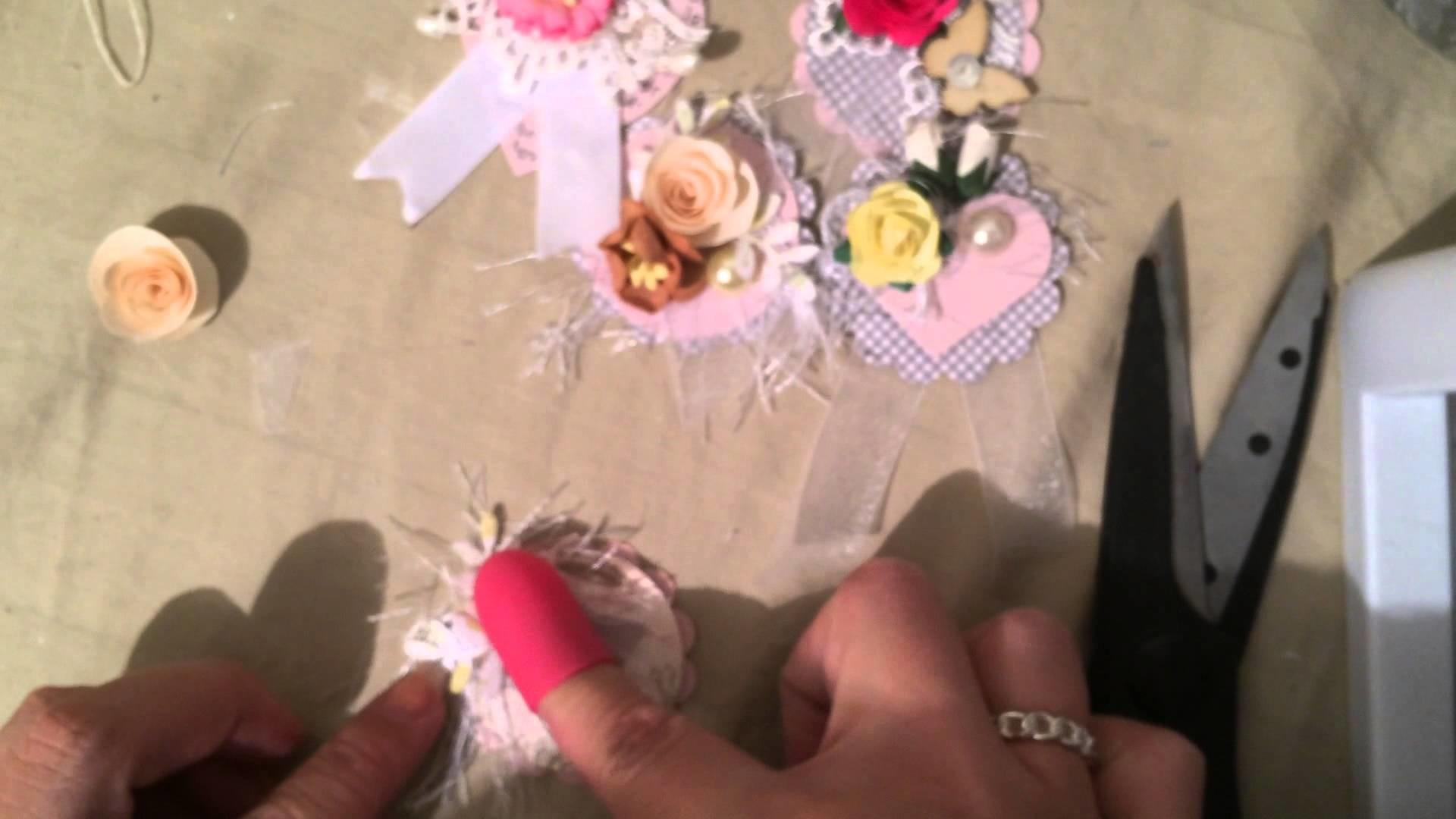 Handmade easy embellishments