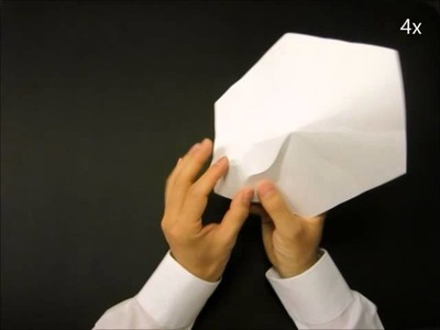 Making of a whipped cream shaped origami