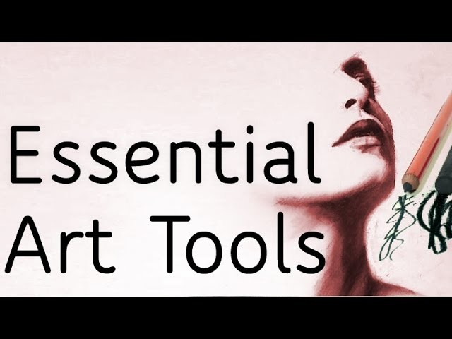 My Essential Art Supplies for Realistic Drawings - FAQ Part 2