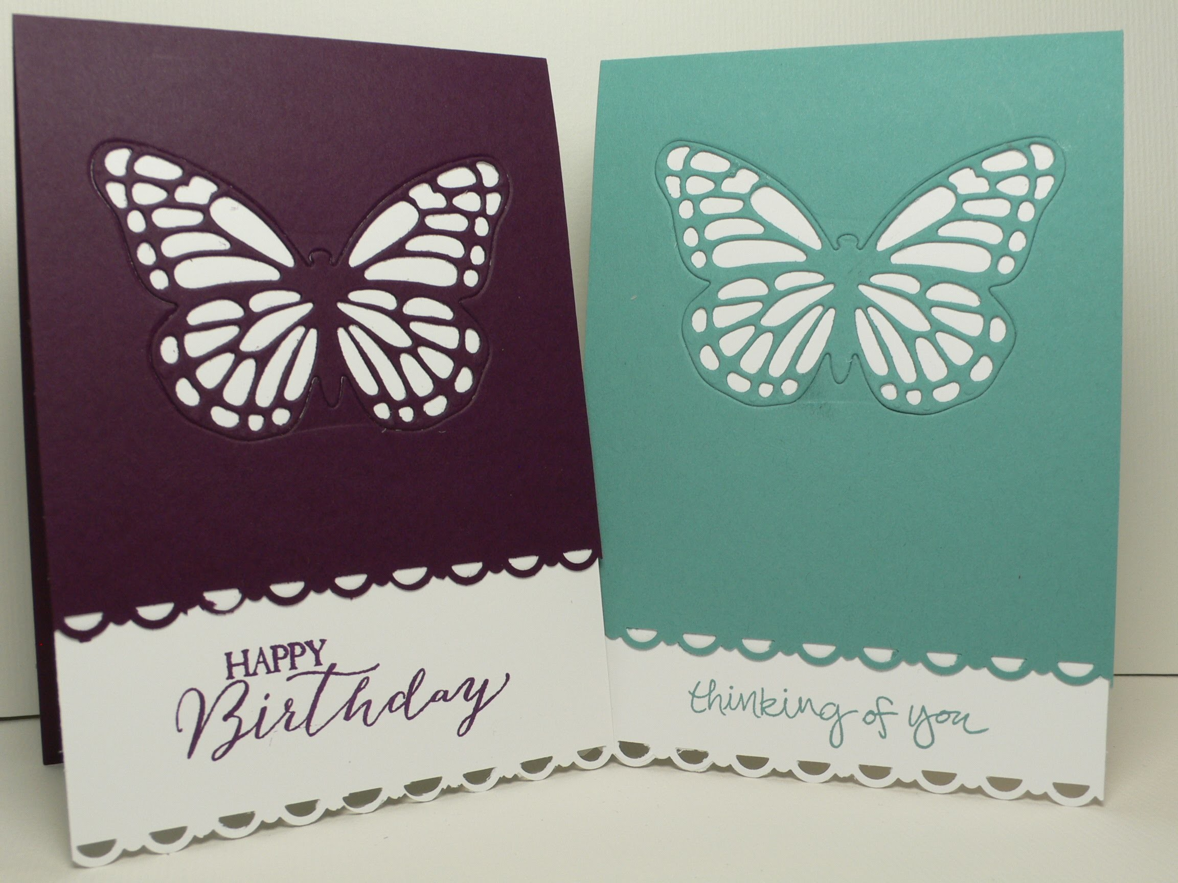 Ophelia Crafts Butterfly Basics Card #4
