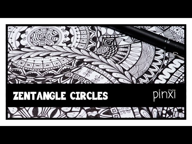 PS Zentangle Circle Doodle