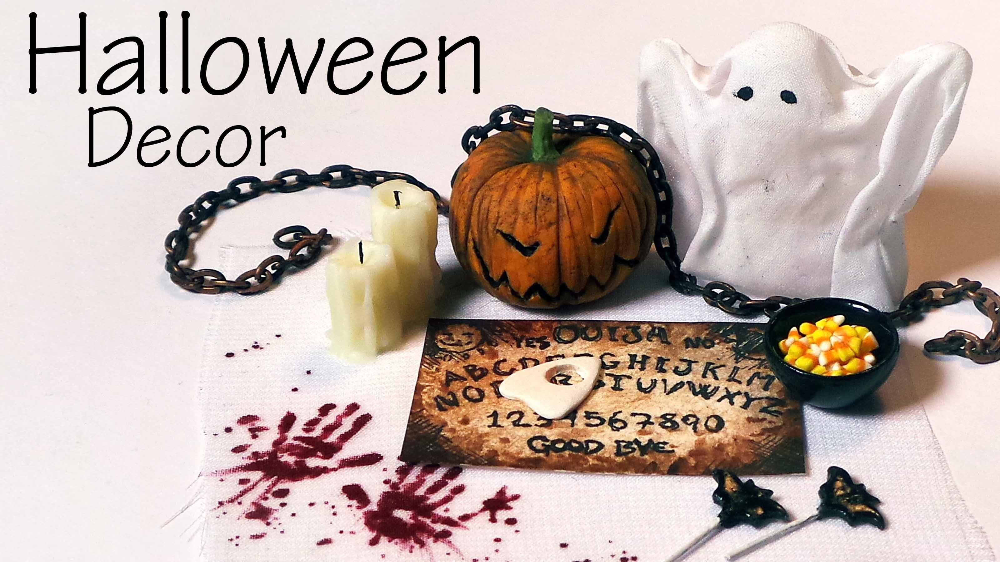 Quick.Easy; Miniature Halloween Decorations & Sweets