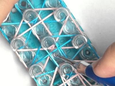 String Lace Bracelet Tutorial
