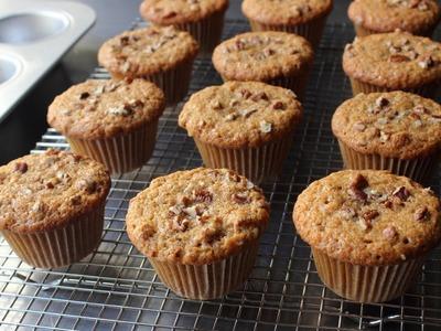 Sweet Potato Muffins - How to Make Sweet Potato Muffins - Holiday Muffins
