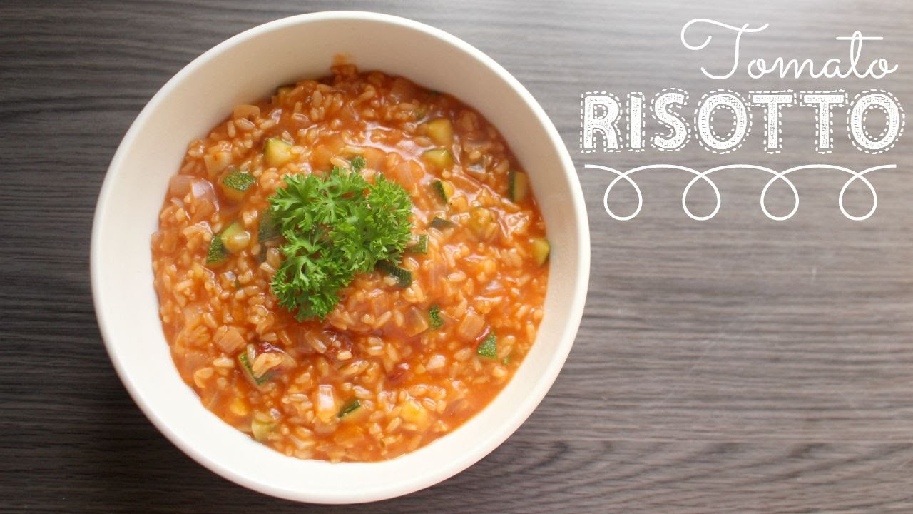 Tomato Risotto | Vegan Recipe