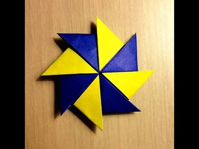 Tutorial - Origami Color Changing Spiral