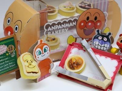 Anpanman Bakery Paper Craft