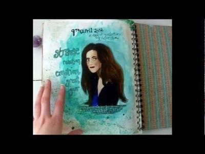 Art Therapy: Page for a Stupid Girl