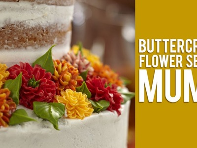 Buttercream Flower Series: How to Make Mums