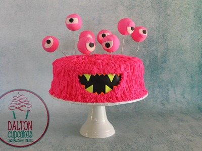 Buttercream Monster Cake - How To