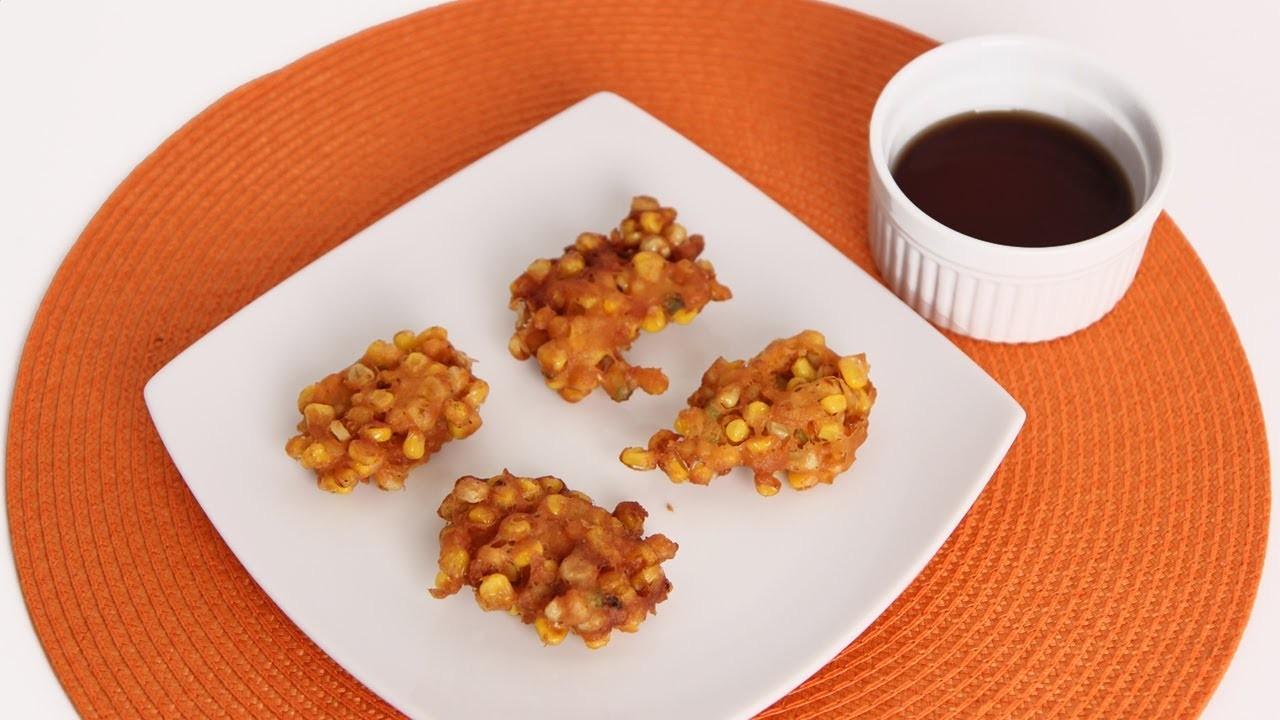 Corn Fritters Recipe - Laura Vitale - Laura in the Kitchen Episode 603