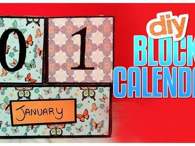 DIY Block Calendar - Do It, Gurl