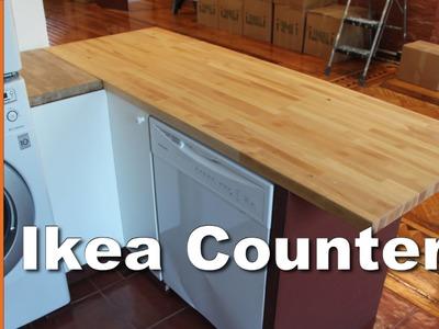 DIY Butcher Block Kitchen Island : GardenFork.TV