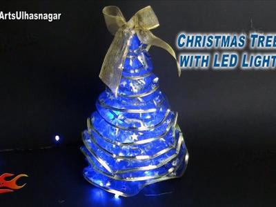 DIY Christmas Tree with LED Lights |How to make | JK Arts 811