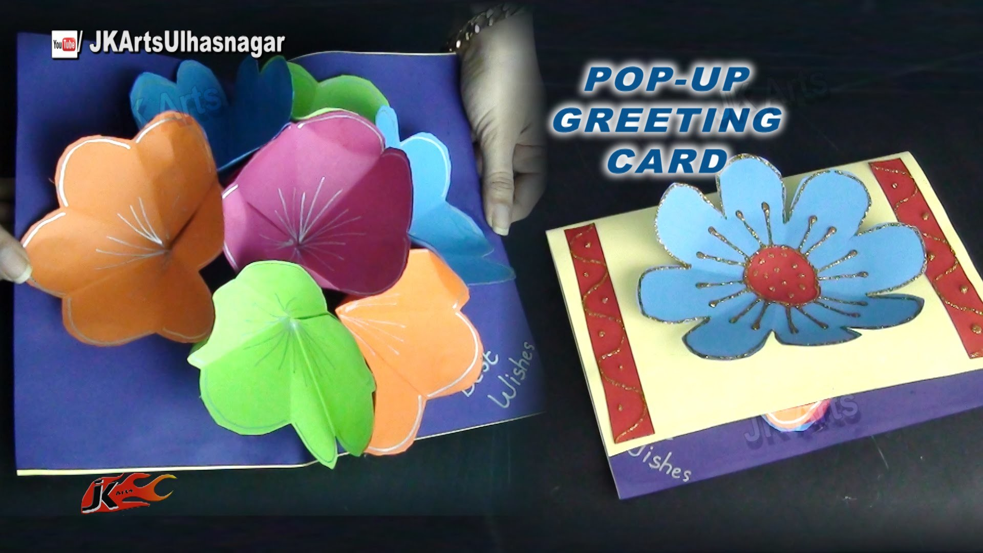 Diy Easy Pop Up 3d Greeting Card For Mothers Day And Teachers Day