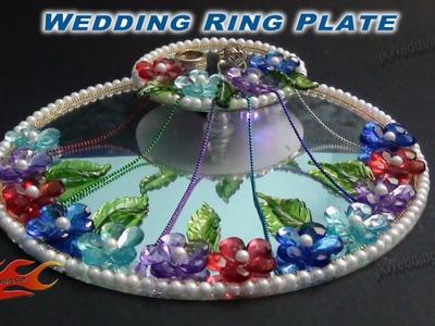 DIY Engagement. Wedding Ring Platter with LED light   How to make   JK Wedding Craft 019