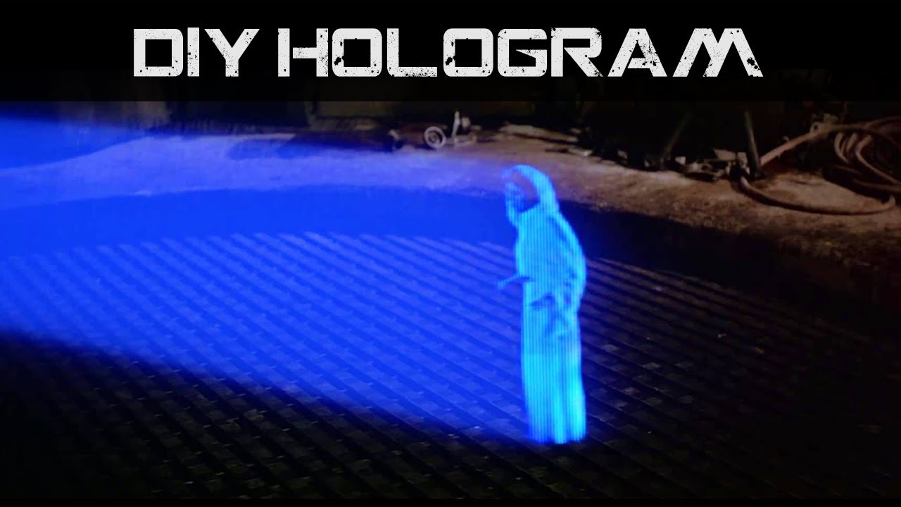 DIY Hologram For Your Phone   How To!