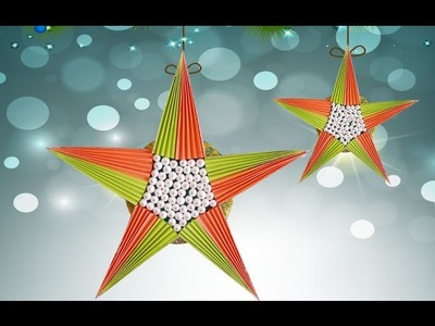 Easy DIY Paper Crafts : You Can Make This Cute Paper Star in Just 5 Min!!!